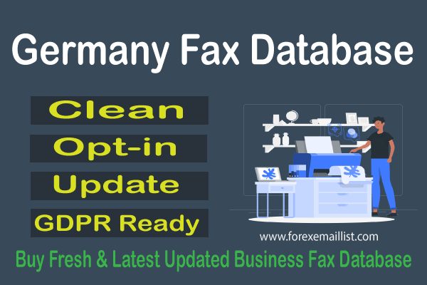 Germany Fax Database