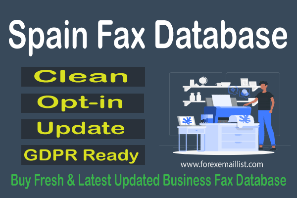 Spain Fax Database