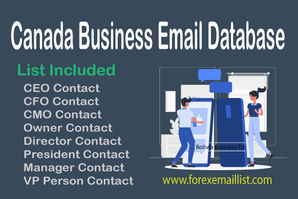 Canada Business Email Database