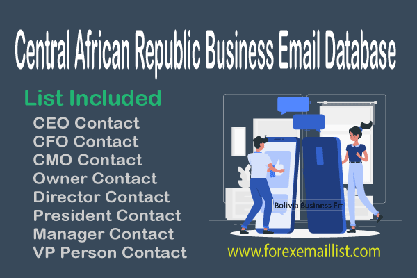Central African Republic Business Email Database