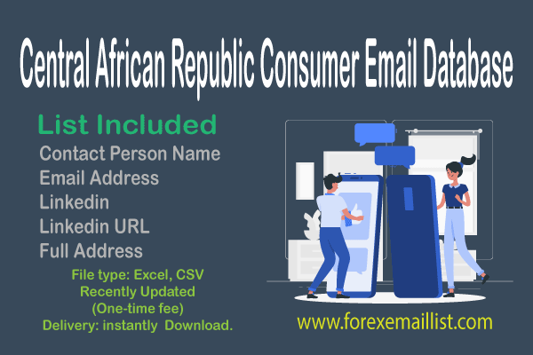 Central African Republic Consumer Email Database