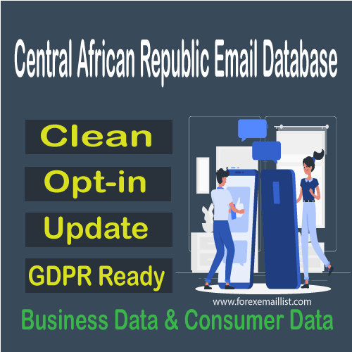 Central African Republic Email Database