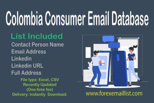 Colombia Consumer Email Database