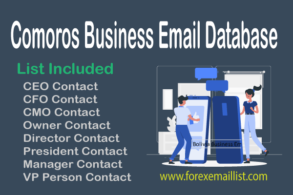 Comoros Business Email Database