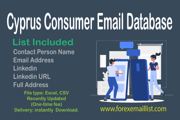 Cyprus Consumer Email Database