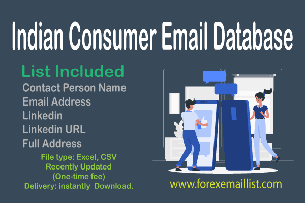 Indian Consumer Email Database