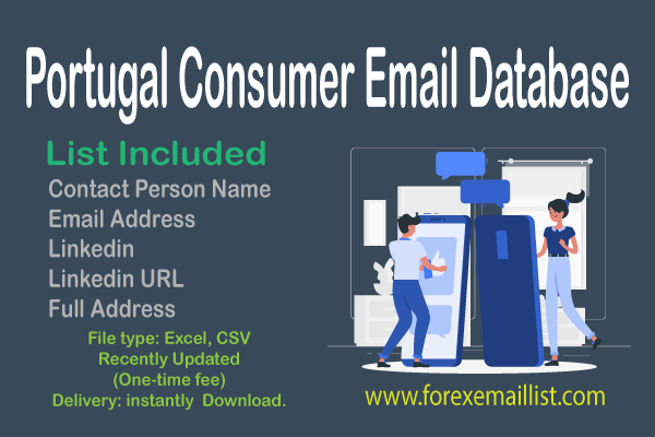 Portugal Consumer Email Database