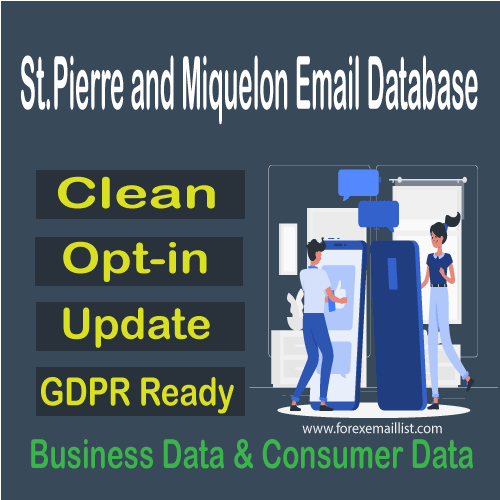 St.Pierre and Miquelon Email Database