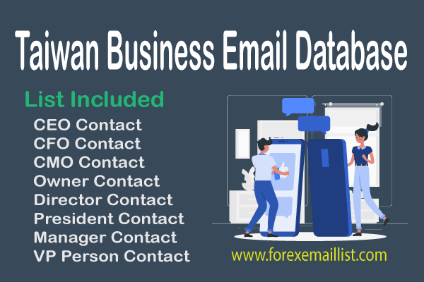Taiwan Business Email Database