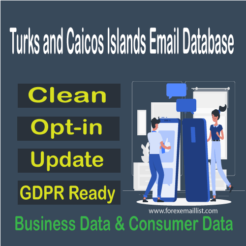 Turks and Caicos Islands Email Database