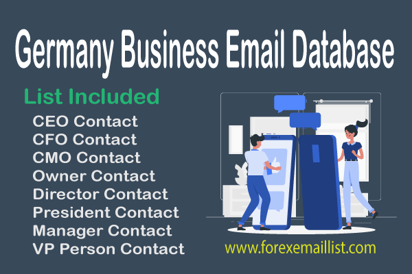 Germany Business Email Database