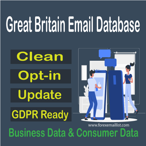 Great Britain Email Database