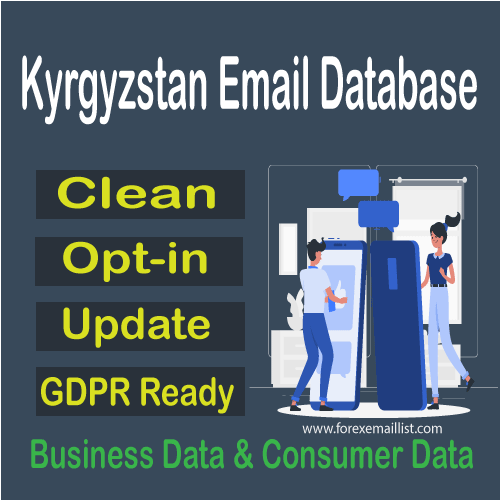 Kyrgyzstan Email Database
