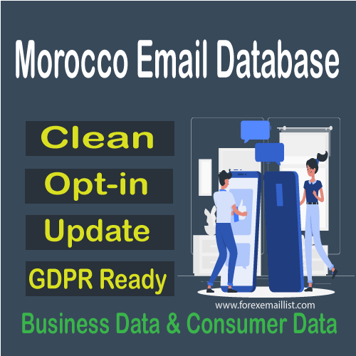 Morocco Email Database