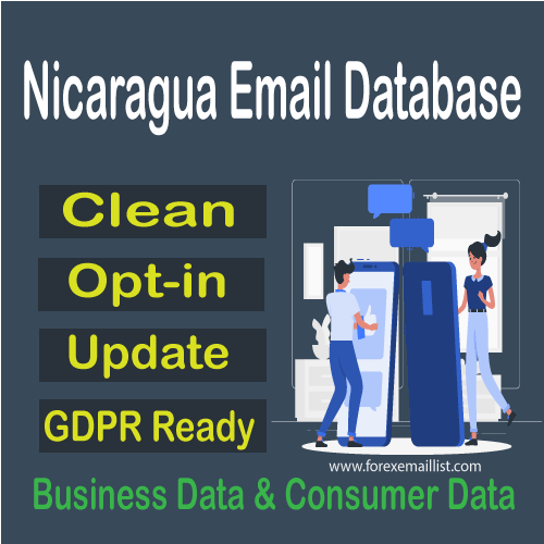 Nicaragua Email Database
