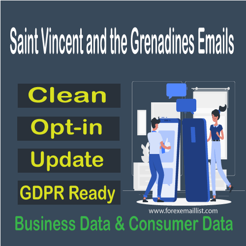 Saint Vincent and the Grenadines Email Database