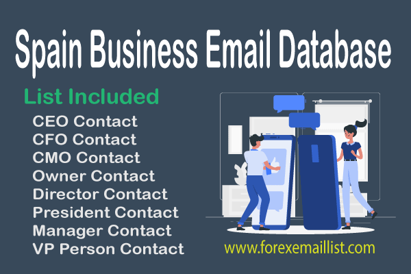 Spain Business Email Database